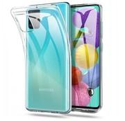 Samsung M31S Case Transparent White - CoolSkin3T