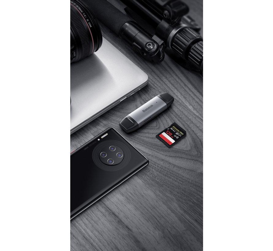 USB-A/USB-C MicroSD SD Card Reader - USB 3.0 and USB-C 3.0