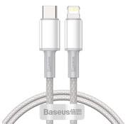 Baseus Kabel Type-C naar Lightning 1m Wit