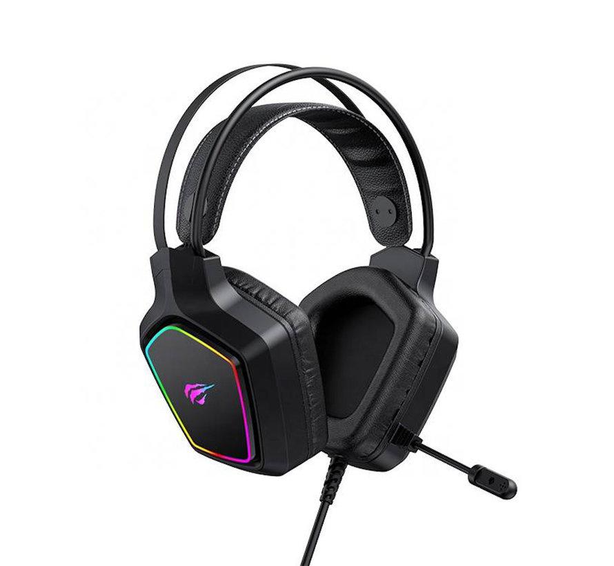 Havit Gaming Headphones - Headphones with Microphone and RBG lighting