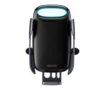 Baseus Baseus - Smart Wireless Car Holder Vent Mount 15W - Zwart