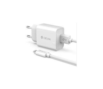 Devia Adapter + USB Type-C kabel 1m Set