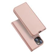 Dux Ducis Skin Pro iPhone 13 mini Bookcase Roze
