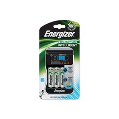 Battery charger + 8 AA batteries