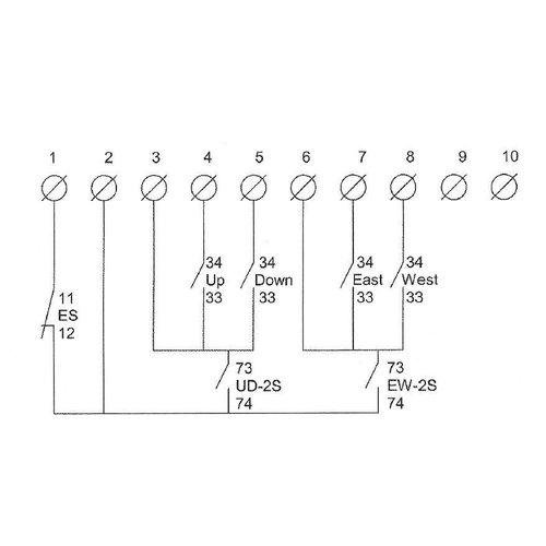 DEMAG Diode klemstrook incl. micro kabel & stekker