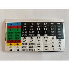 SAGA1-K4 Sticker set