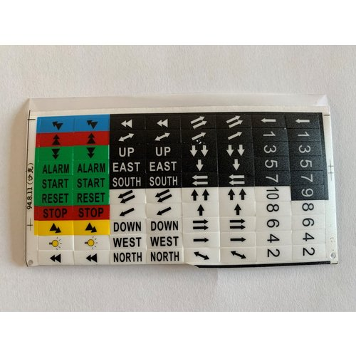 SAGA SAGA1-K4 Sticker set