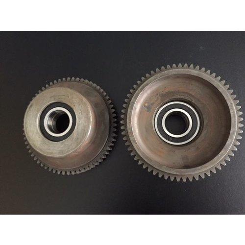 DH500 driven wheel incl. bearings