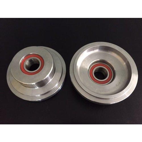 DH500 loopwiel diameter 125 mm incl. lagers