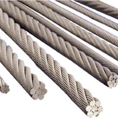 Cable en acier 7mm D