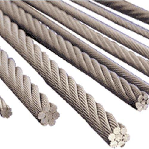 Cable en acier  25mm D 1770N/mm MBL=498kN