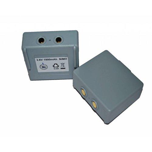 Batterij 3,6V 1,5Ah NiMH
