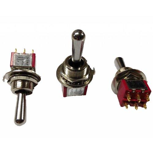 bouton sélecteur T-O-T ( 2 positions auto retour au milieu)