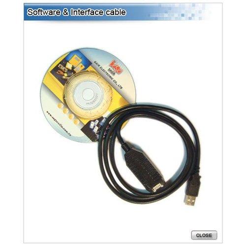 SAGA SAGA1-K Software + USB Kabel
