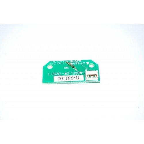 SAGA SAGA1-K2 print voor sleutelcontact zender