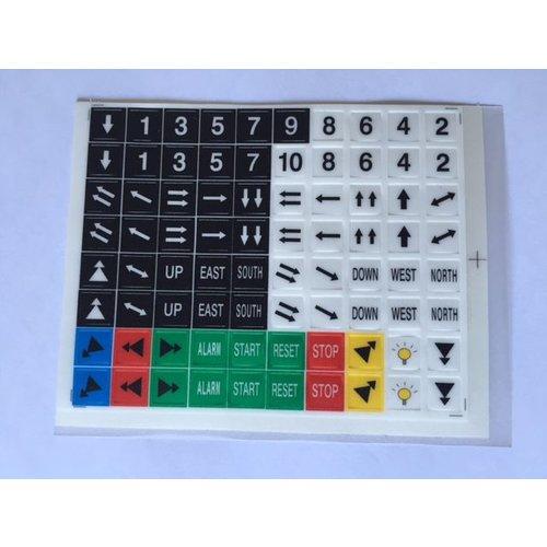 SAGA SAGA1-K2 Sticker set