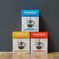Freshdrip reinvented: meet our new range of drip coffee bags
