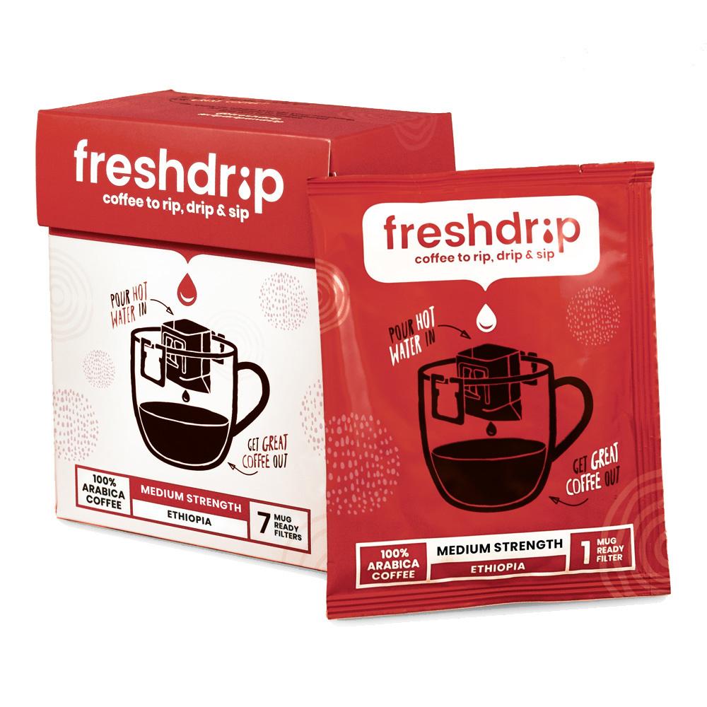 Medium sterke filterkoffie | Ethiopië | 7 Freshdrips-1