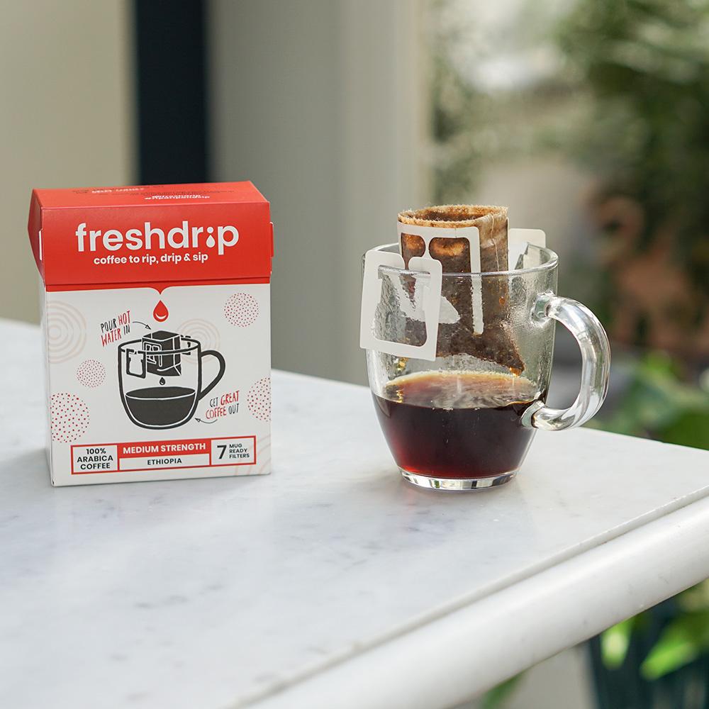 Medium sterke filterkoffie | Ethiopië | 7 Freshdrips-4