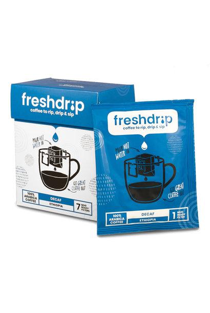 Decaf drip coffee | Ethiopia | 7 Freshdrips