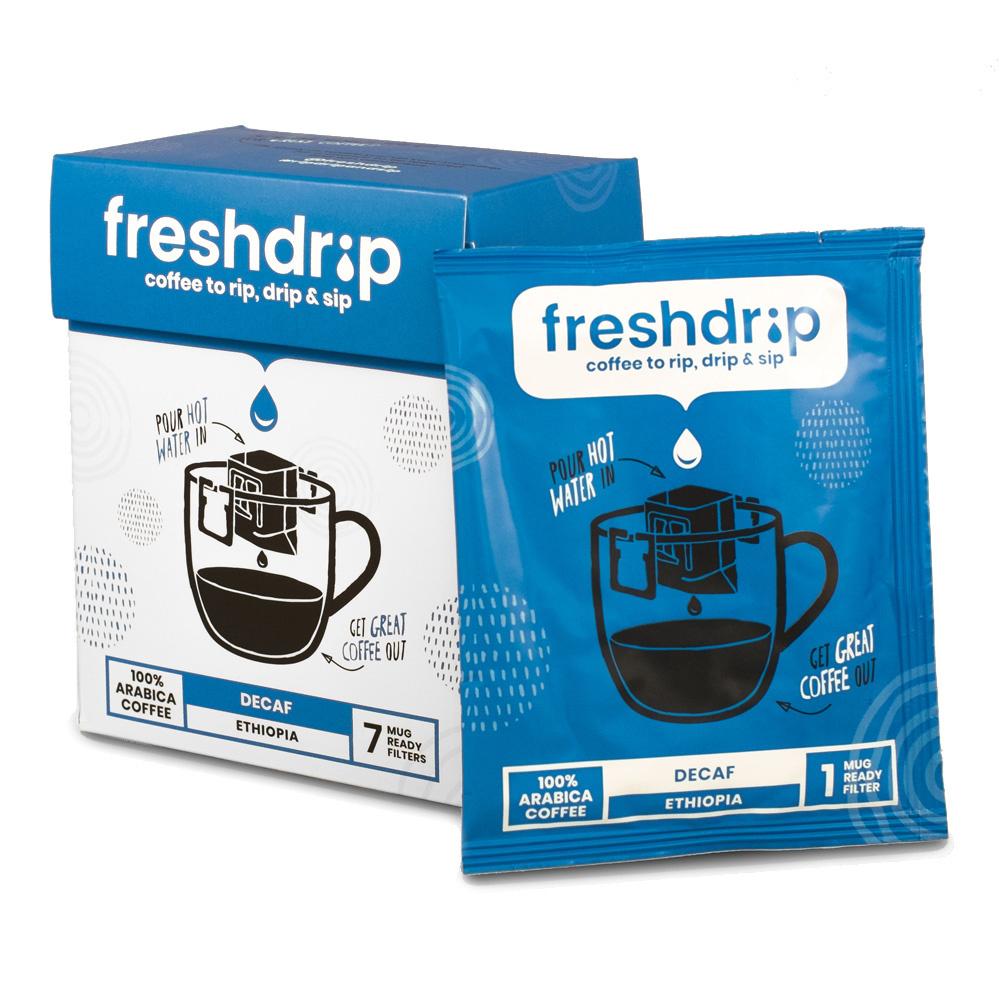 Cafeïnevrij filterkoffie | Ethiopië | 7 Freshdrips-1