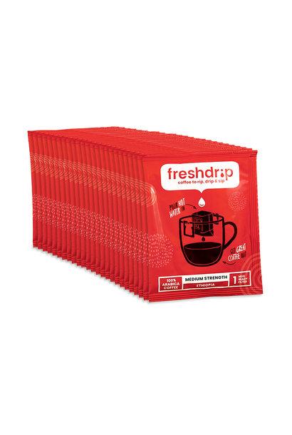 Medium sterkte filterkoffie | Ethiopië | 50 Freshdrip voordeelpak