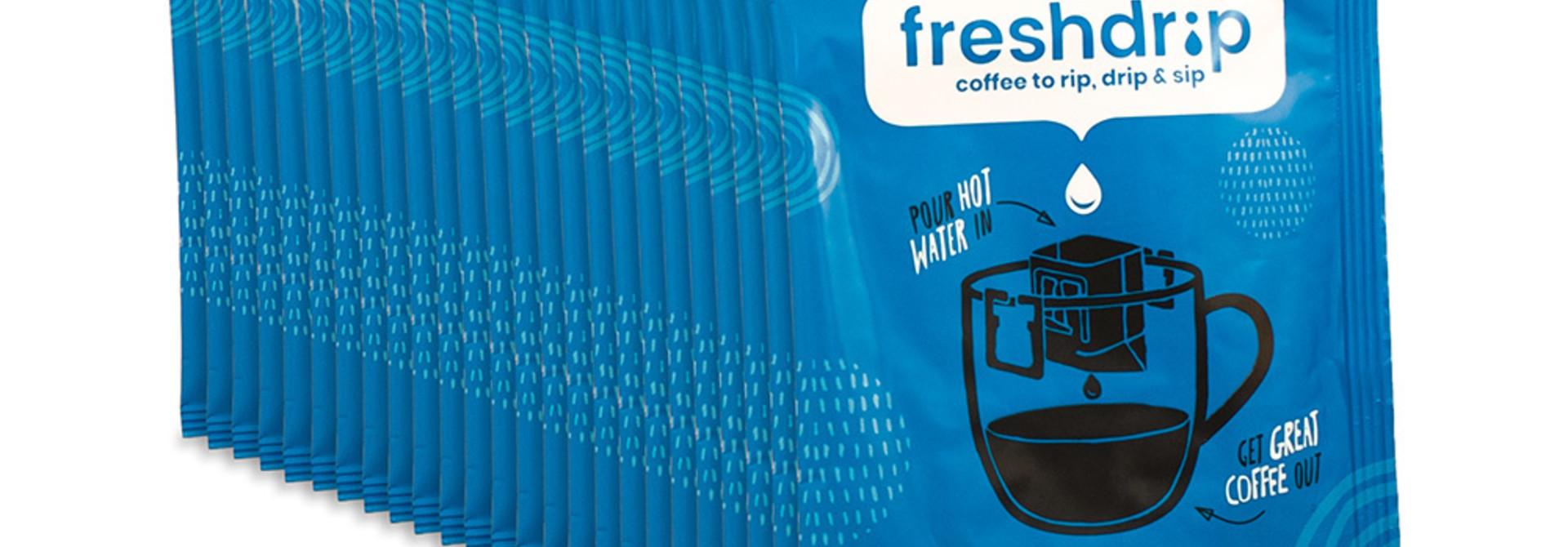 Cafeïnevrij filterkoffie | Ethiopië | 50 Freshdrips voordeelpak