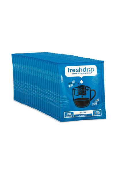 Cafeïnevrij filterkoffie | Ethiopië | 50 Freshdrip voordeelpak