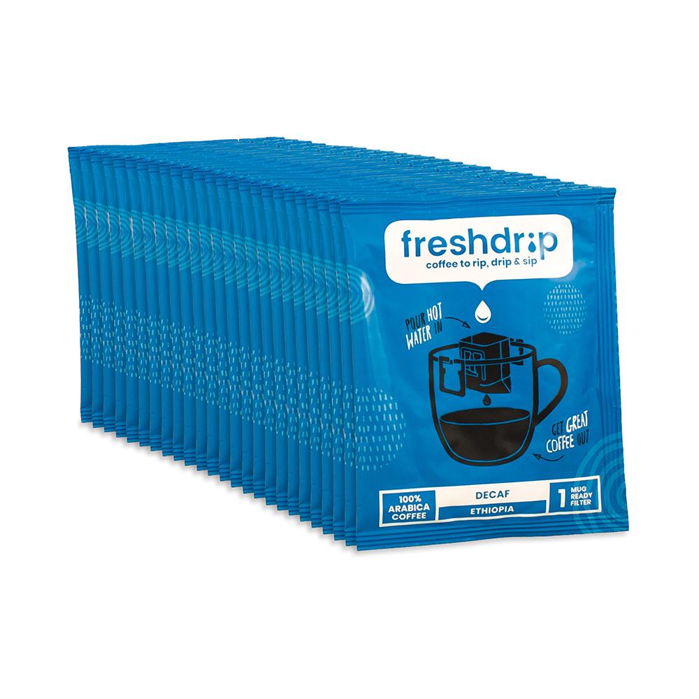 Cafeïnevrij filterkoffie | Ethiopië | 50 Freshdrips voordeelpak-1