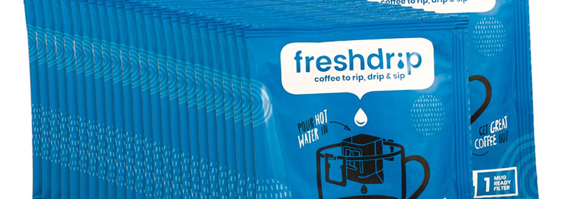 Cafeïnevrij filterkoffie | Ethiopië | 100 Freshdrip super voordeelpak