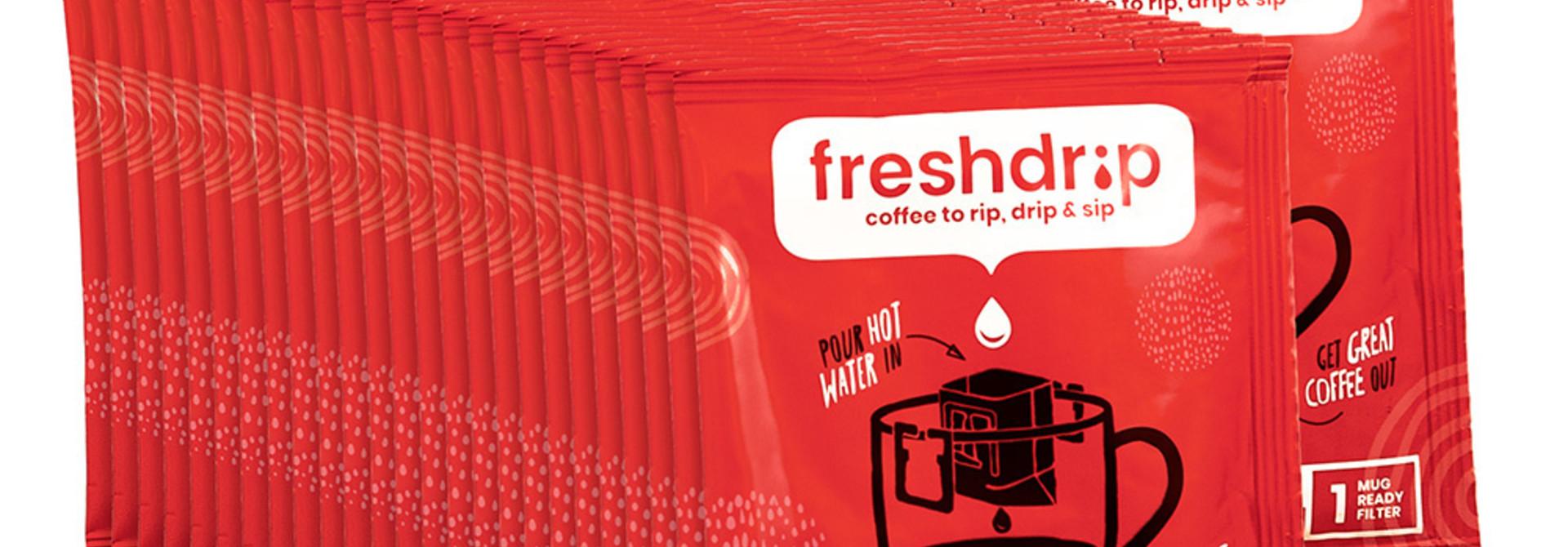 Medium-strength drip coffee | 100 Freshdrip super saver pack
