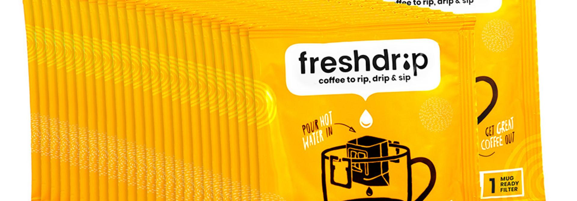 Full-strength drip coffee | Colombia | 100 Freshdrip super saver pack