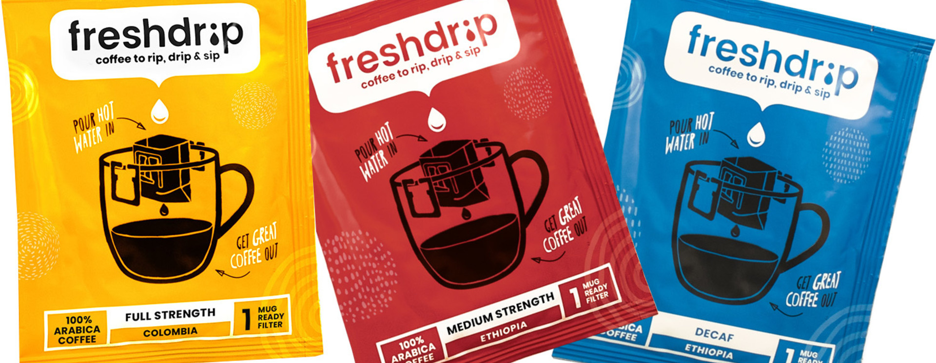Shop Alle Freshdrip Filter Coffees