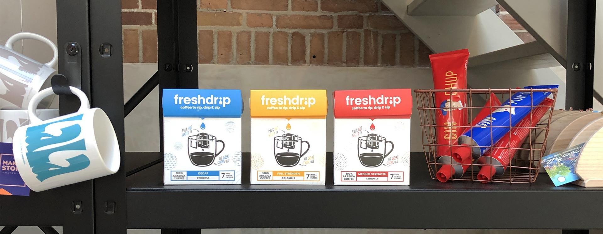 Order Freshdrip op basis van box grootte