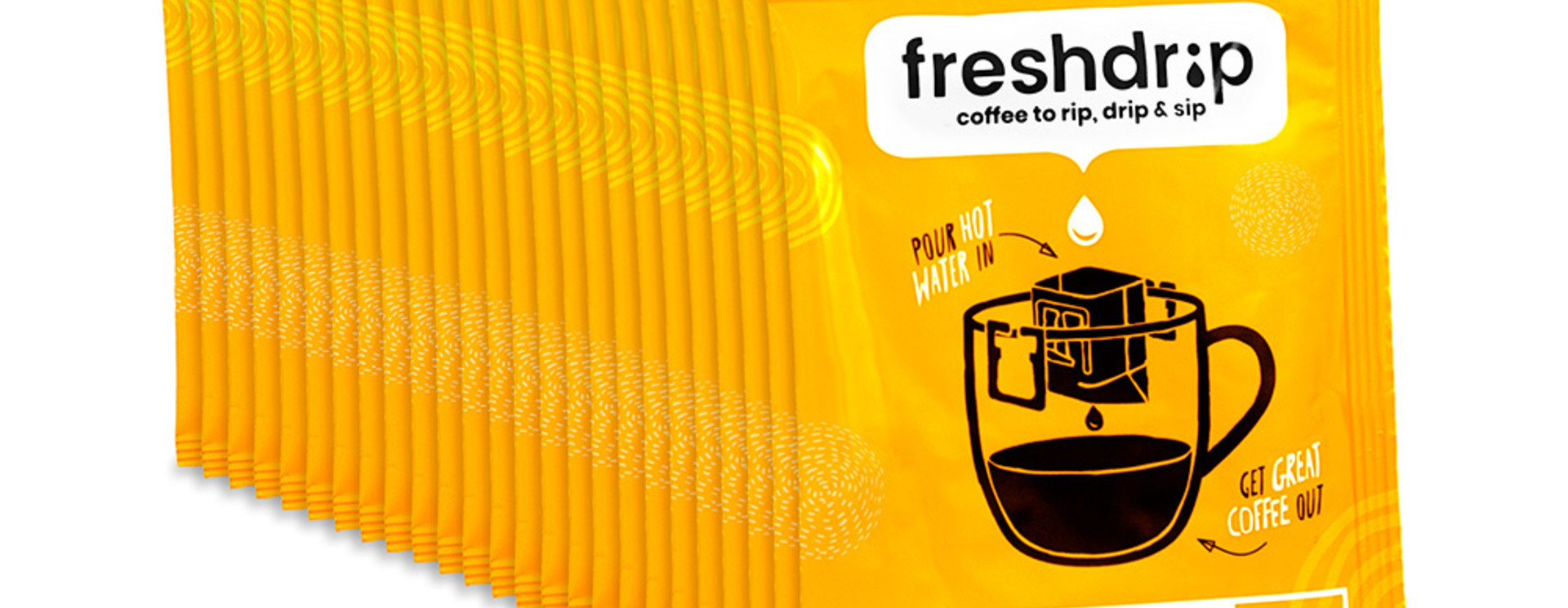 Freshdrip Medium Box With 50 Coffee Filters