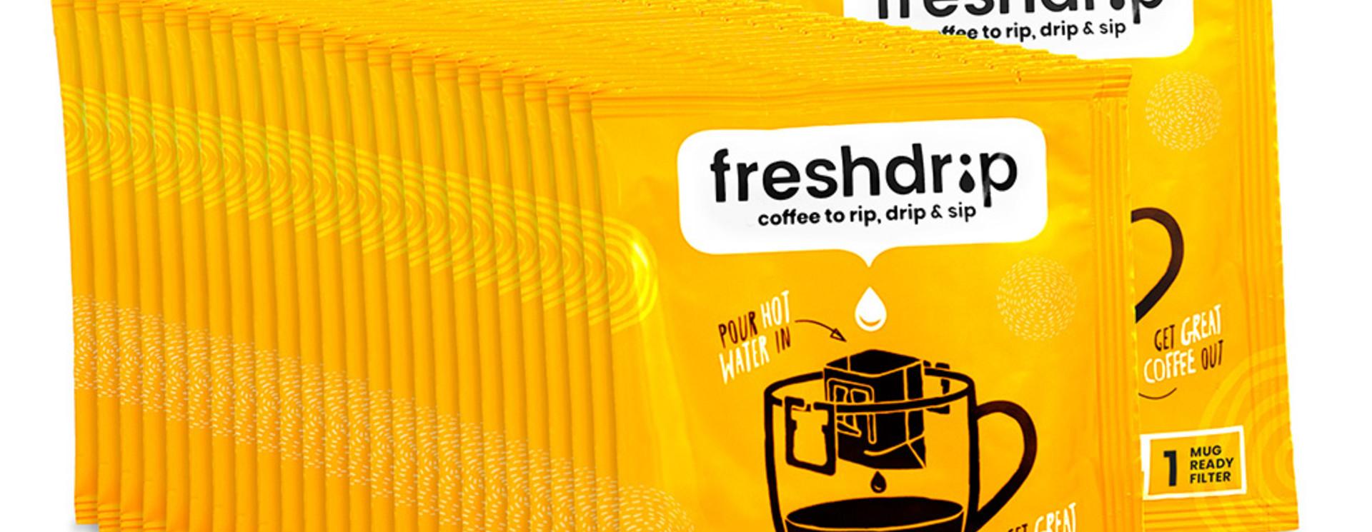 Freshdrip Large Box Met 100 Koffie Filters