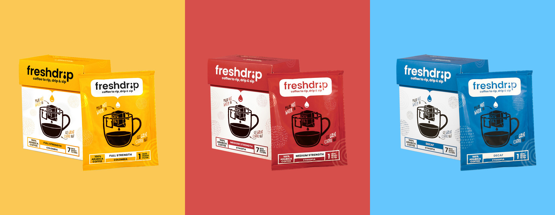 Freshdrip Small Box With 7 Coffee Filters