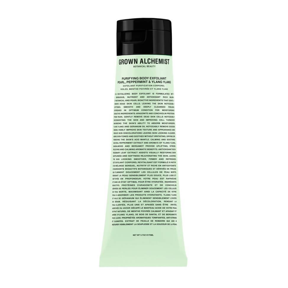 Grown Alchemist Purifying Body Exfoliant Pearl, Peppermint & Ylang Ylang  120ml
