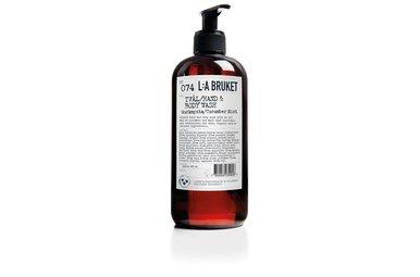 L:A Bruket vloeibare zeep Komkommer Mint 450 ml No. 74