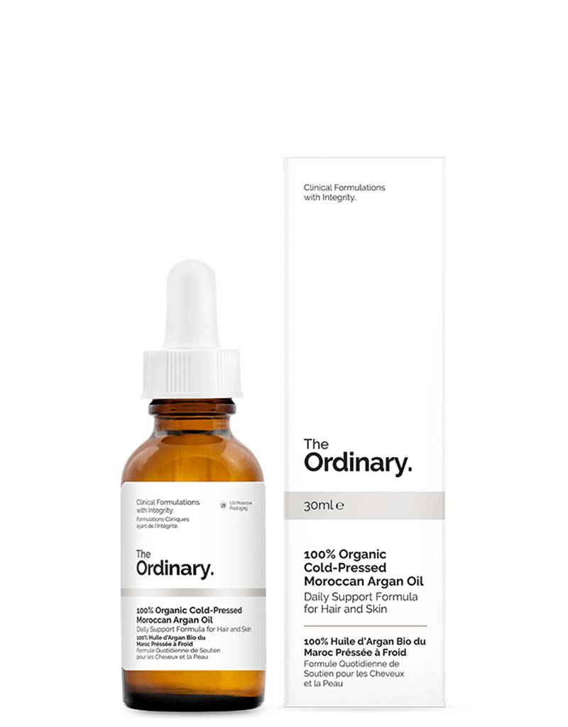 The Ordinary The Ordinary 100% Organic Cold-Pressed Moroccan Argan Oil 30ml