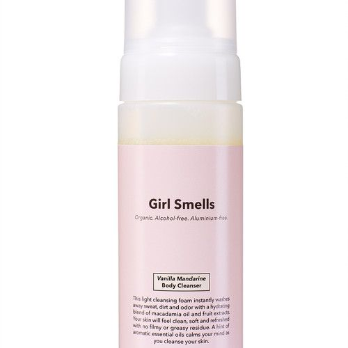 Girl Smells Girl Smells Organic Body Cleanser Vanilla Mandarine 150ml