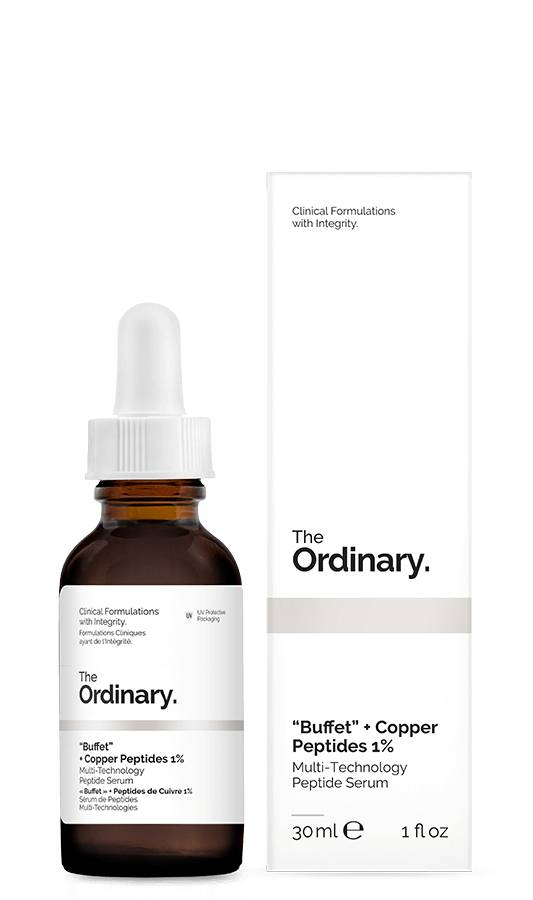 The Ordinary The Ordinary Buffet + Copper Peptides 1% 30ml