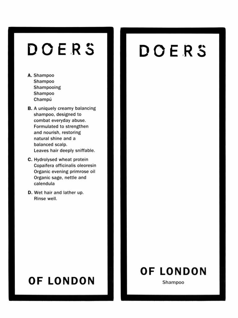 Doers of London Doers of London Shampoo 300ml