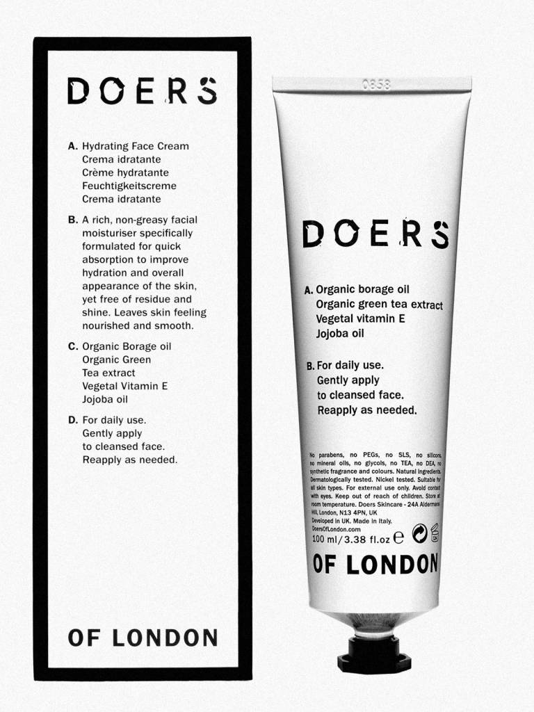 Doers of London Doers of London facial cleanser 200ml