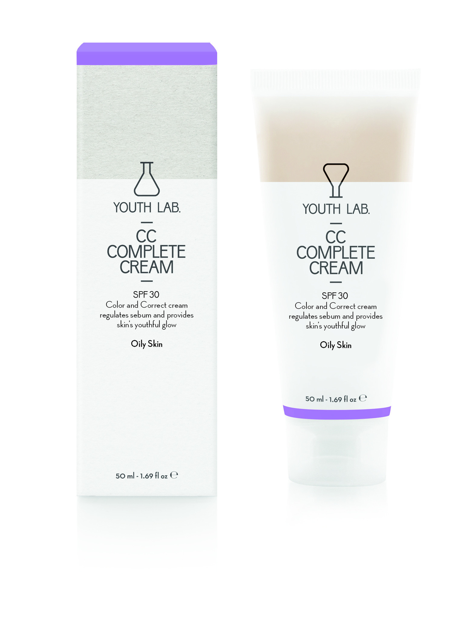 Youth Lab Youth lab CC complete cream SPF30 Combination_Oily Skin 50ml