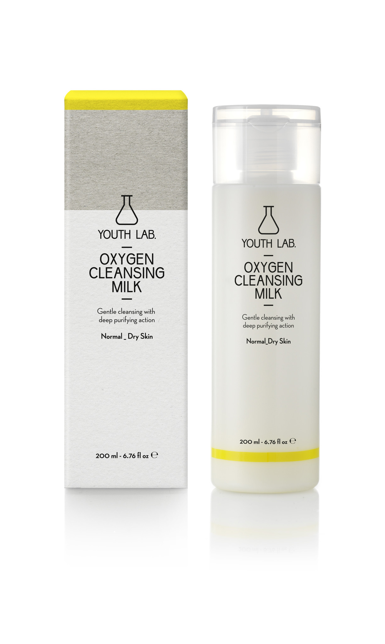 Youth Lab Youth lab Oxygen cleansing milk 200ml