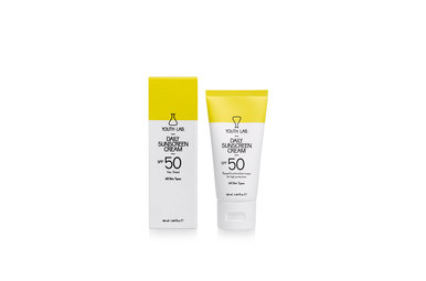 Youth lab Daily sunscreen cream spf50 not tinted All skin types