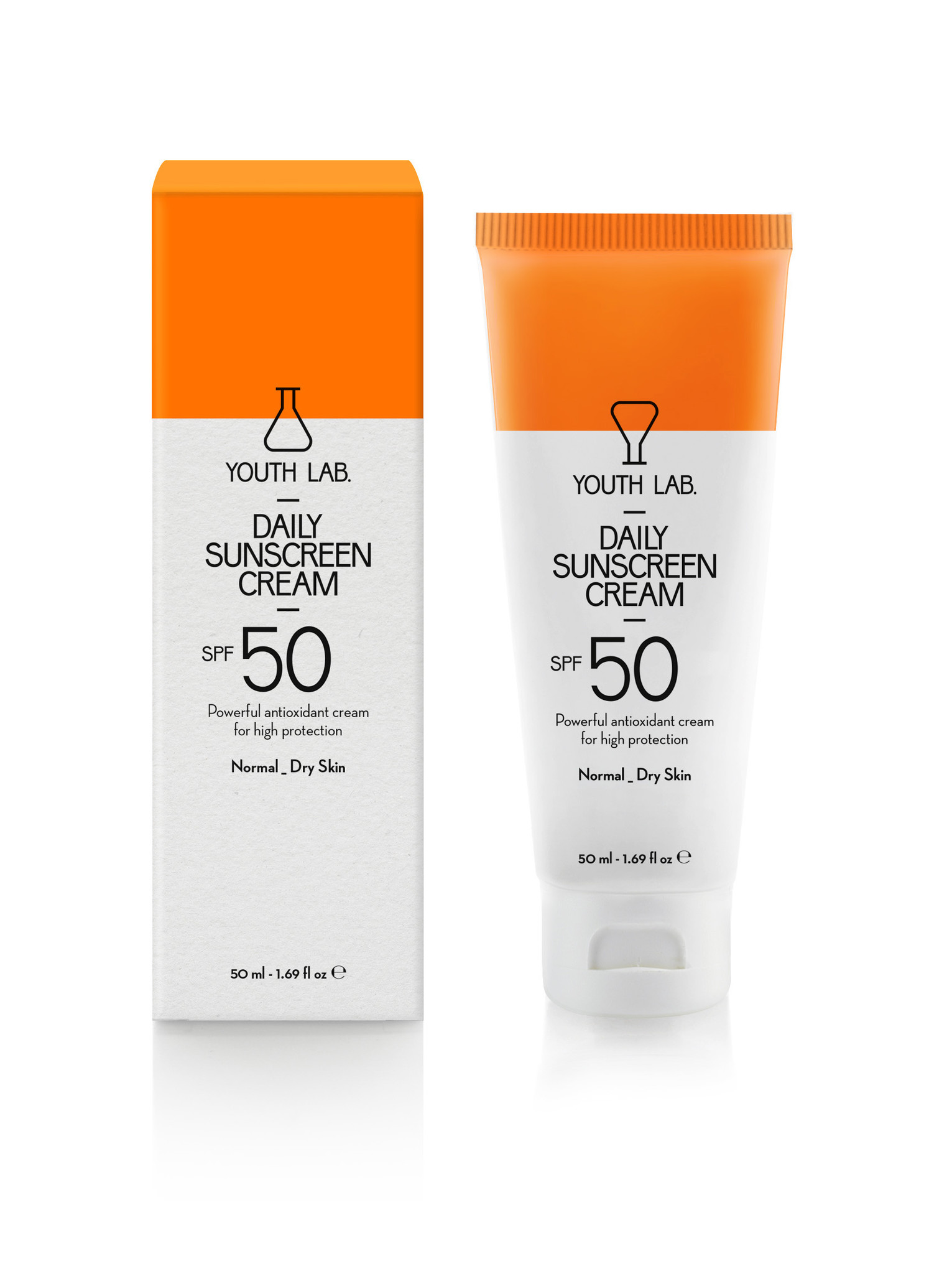 Youth Lab Youth lab Daily sunscreen cream spf 50 Normal_dry skin 50ml