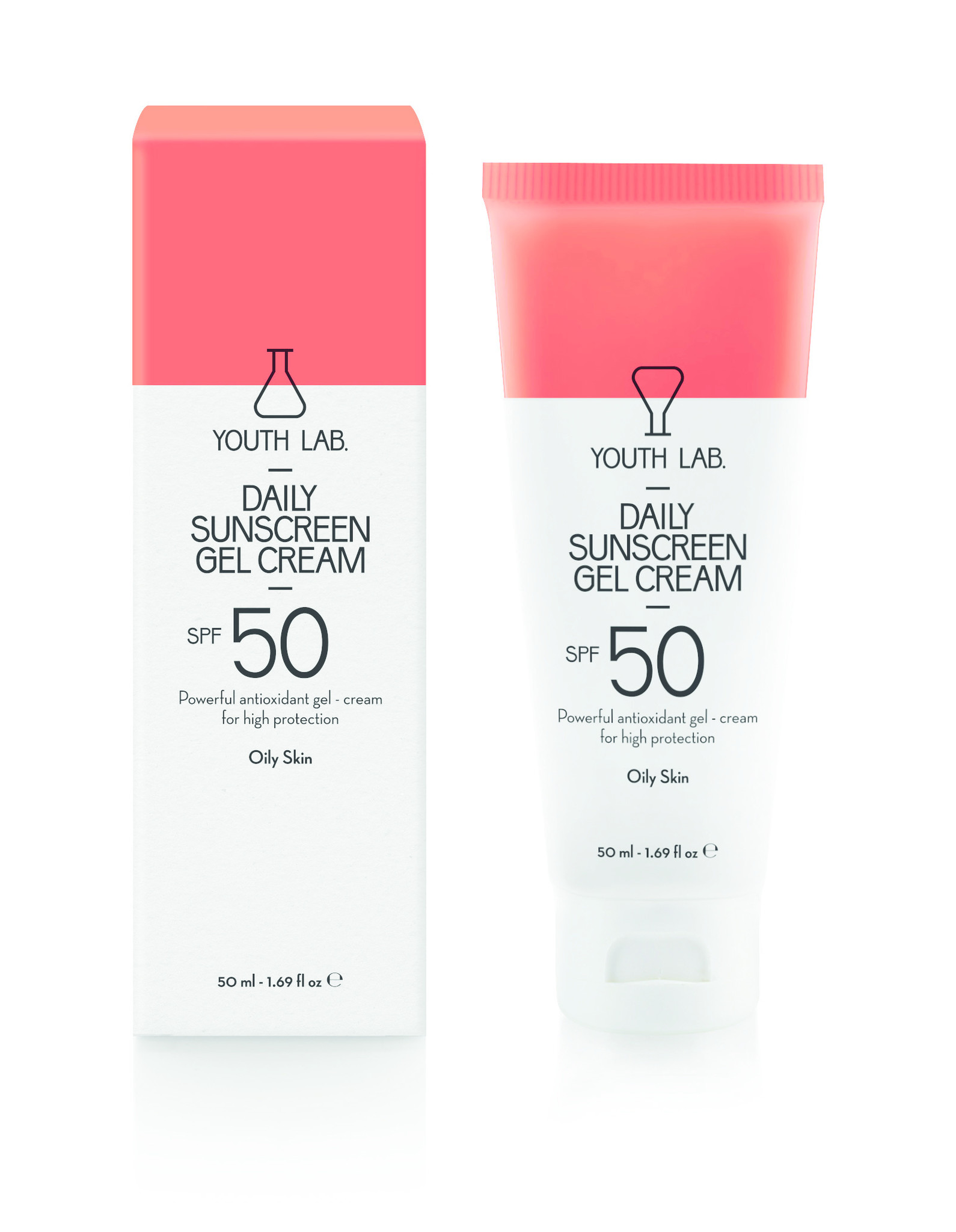 Youth Lab Youth lab Daily sunscreen gel cream spf 50 Oily skin