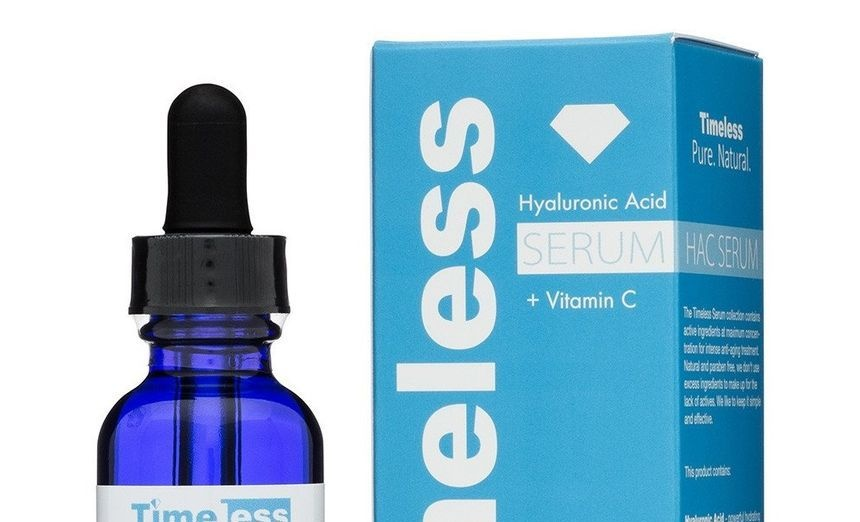 Timeless Skincare Hyaluronic Acid Serum + Vitamin c 30ml